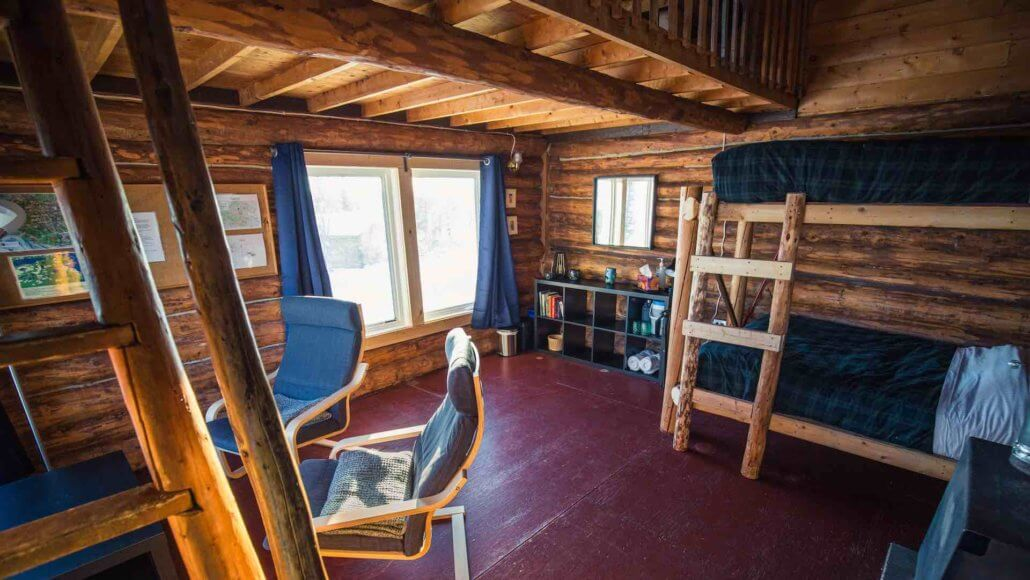 Point Cabin mit Galerie - Blachford Lake Lodge, Kanada