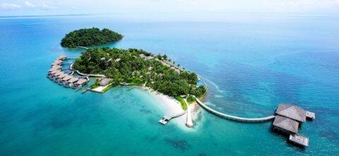 Blick von oben Song Saa Private Island