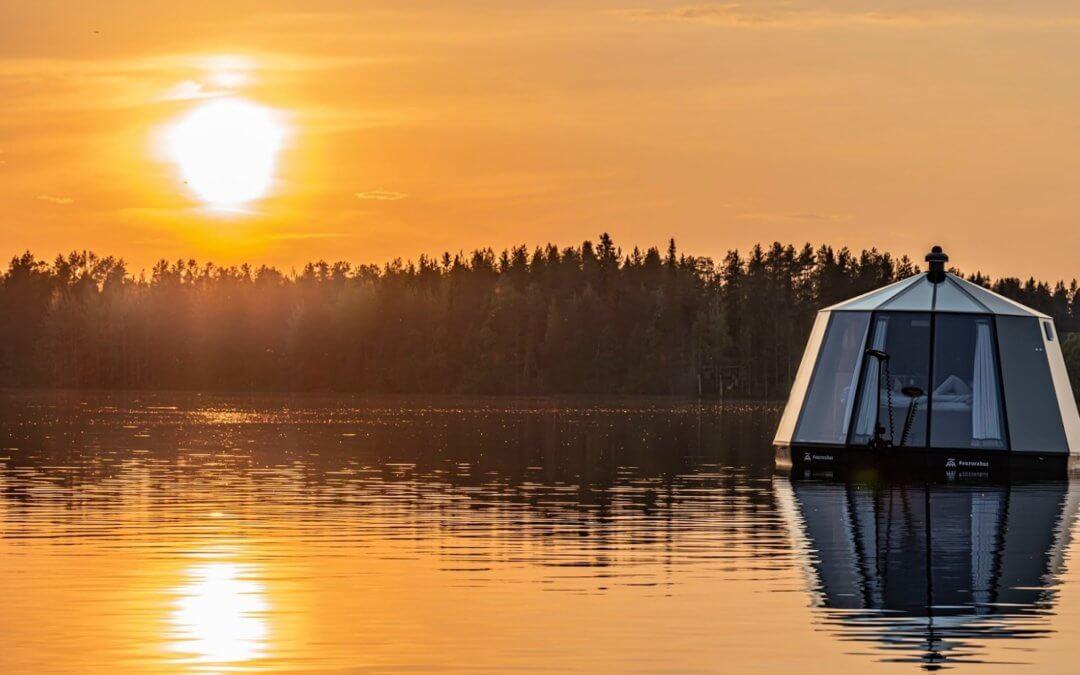 Arctic Guesthouse – Glas-Iglus in der Wildnis Finnlands