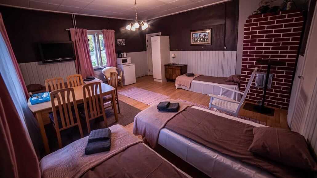 Vierbettzimmer des Arctic Guesthouse - Arctic Guesthouse, Finnland