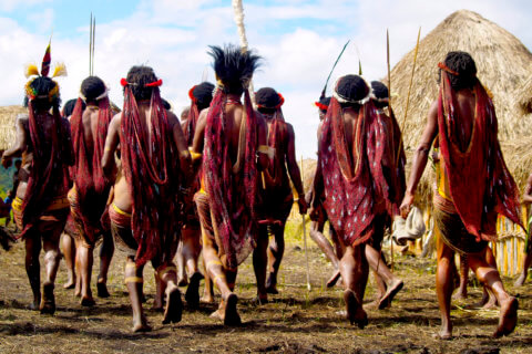 Expedition Neuguinea - Stamm der Dani