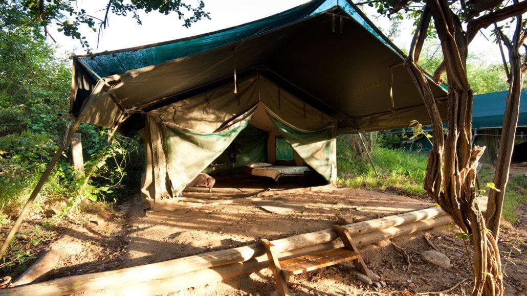 Busch-Camp Karongwe - Zelt