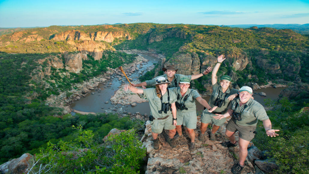 Busch-Training - Suedafrika Mukulele