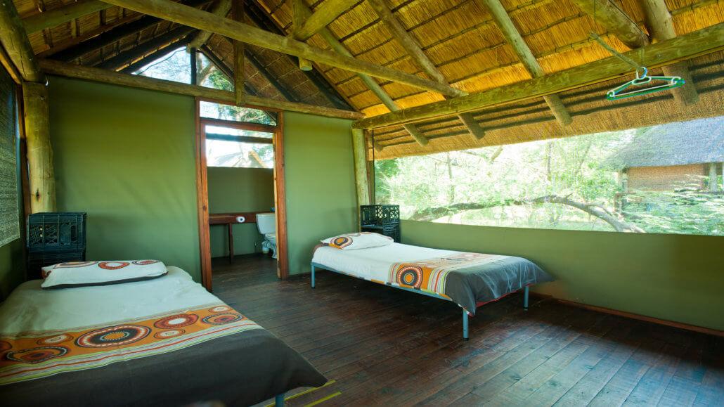 Makuleke Camp Suedafrika - Zeltinnenraum