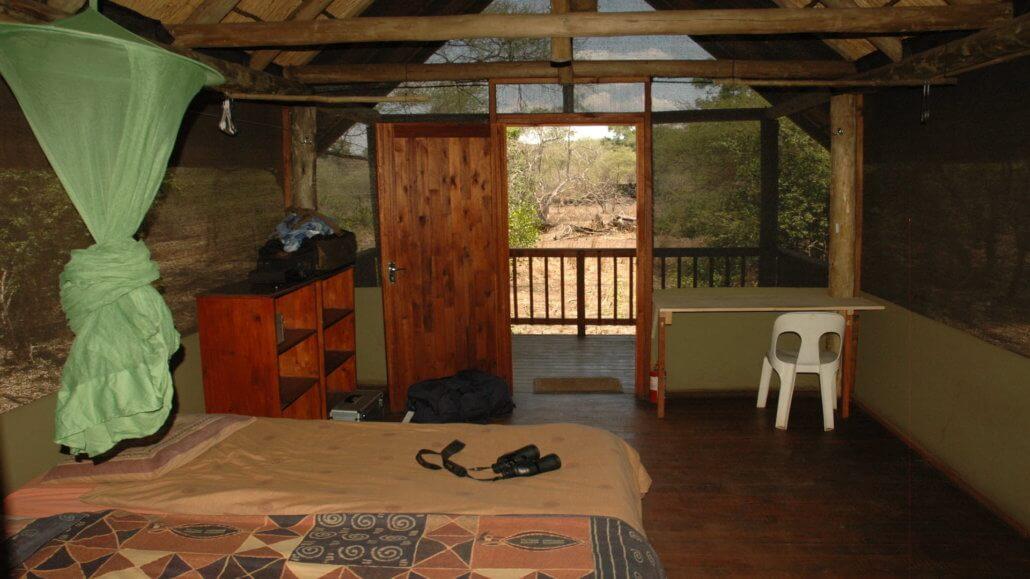 Makuleke Camp - Zelt Innenraum