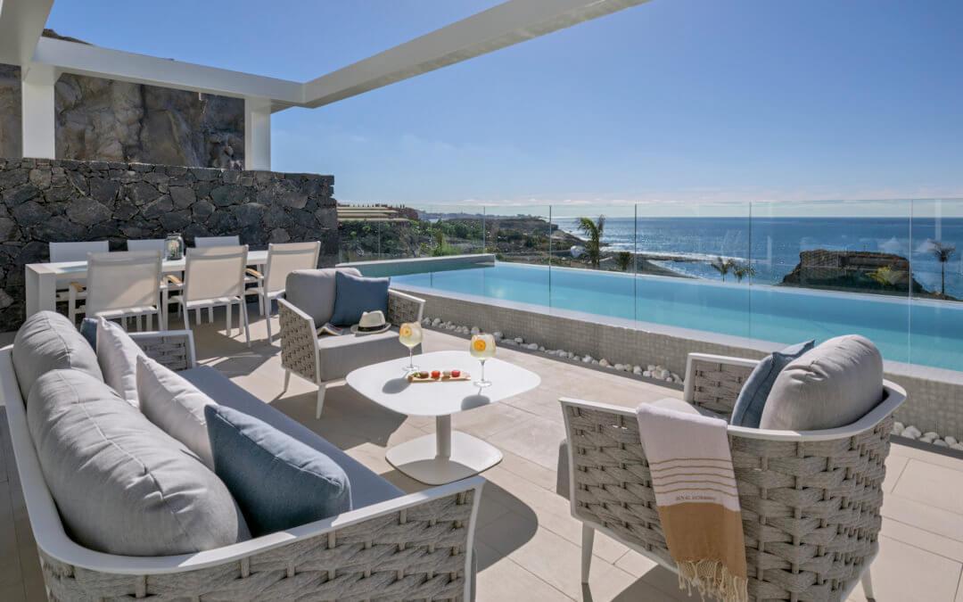 Royal Hideaway Corales Suites – Suitenhotel mit Privatpool an der Sonnenküste Teneriffas