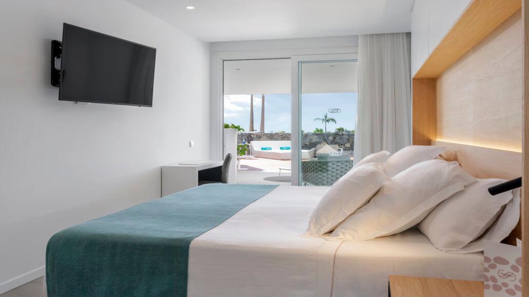 Royal Hideaway Corales Suites Teneriffa - Duplex Villa Suite mit 2 Schlafzimmern und Pool