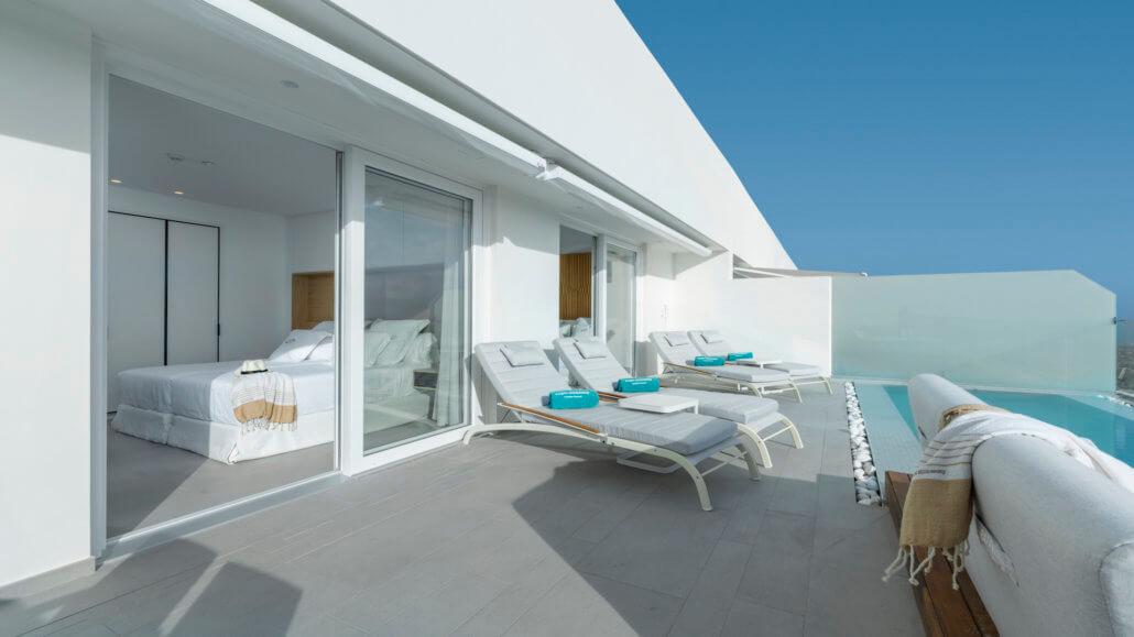 Royal Hideaway Corales Suites Teneriffa - Penthouse Suite mit 2 Schlafzimmern und Pool