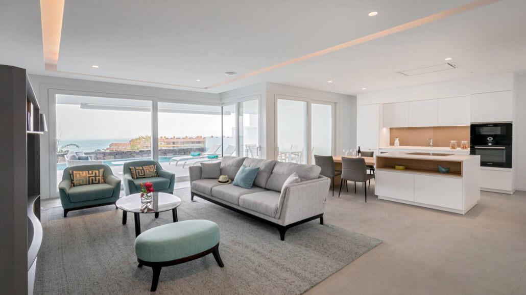 Royal Hideaway Corales Suites Teneriffa - Suite Deluxe mit 2 Schlafzimmern und Pool