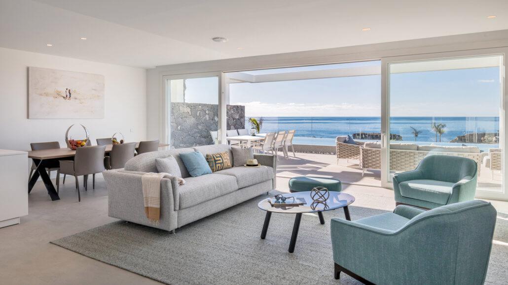 Royal Hideaway Corales Suites Teneriffa - Wohnbereich