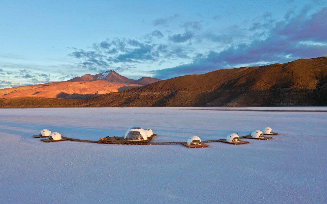 Kachi Lodge – Kuppelförmige Suiten mit künstlerischem Flair in der Salar de Uyuni