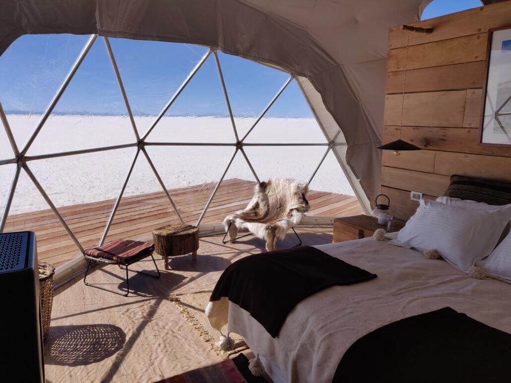 Kachi Lodge, Salar de Uyuni, Bolivien - Zimmeransicht