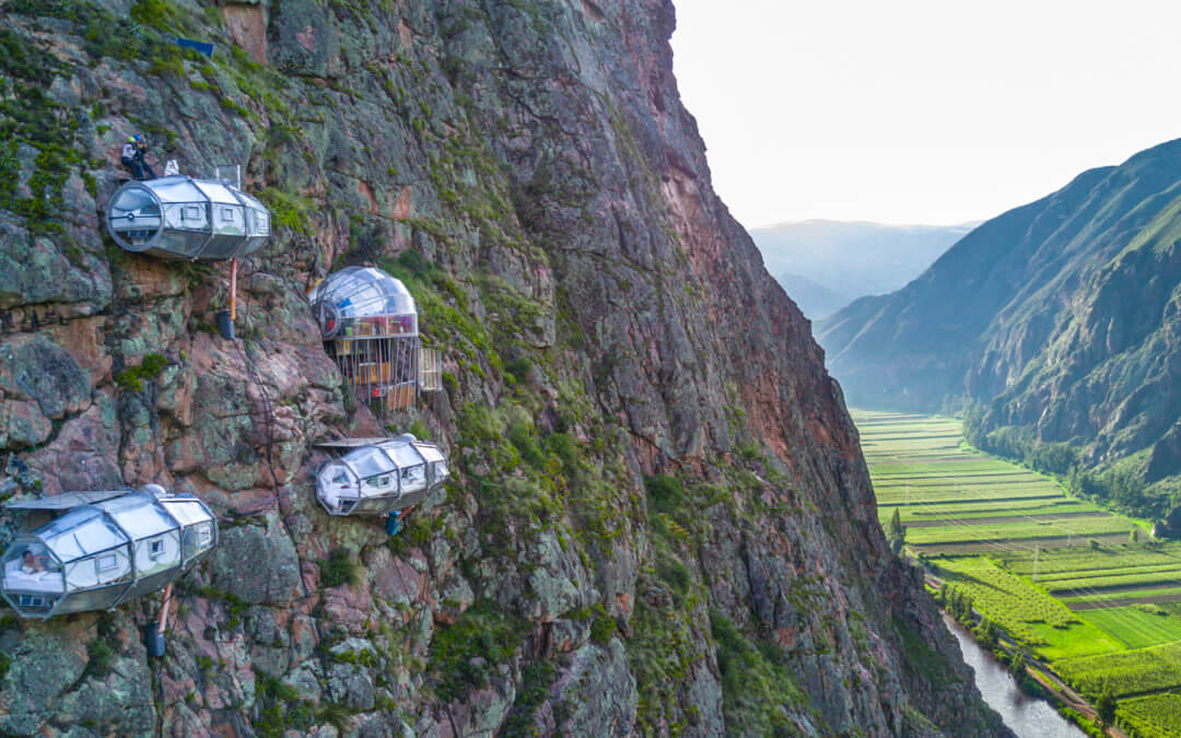 Skylodge Adventure Suites – Kapseln am Fels mit Blick aufs Heilige Tal der Inkas