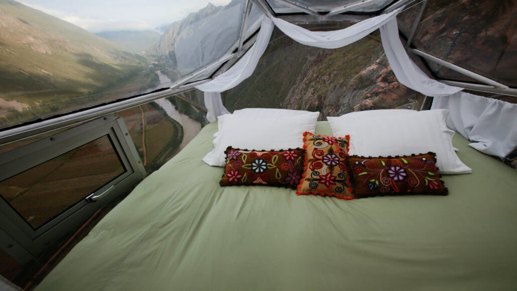 Skylodge Adventure Suites Peru - Schlafraum