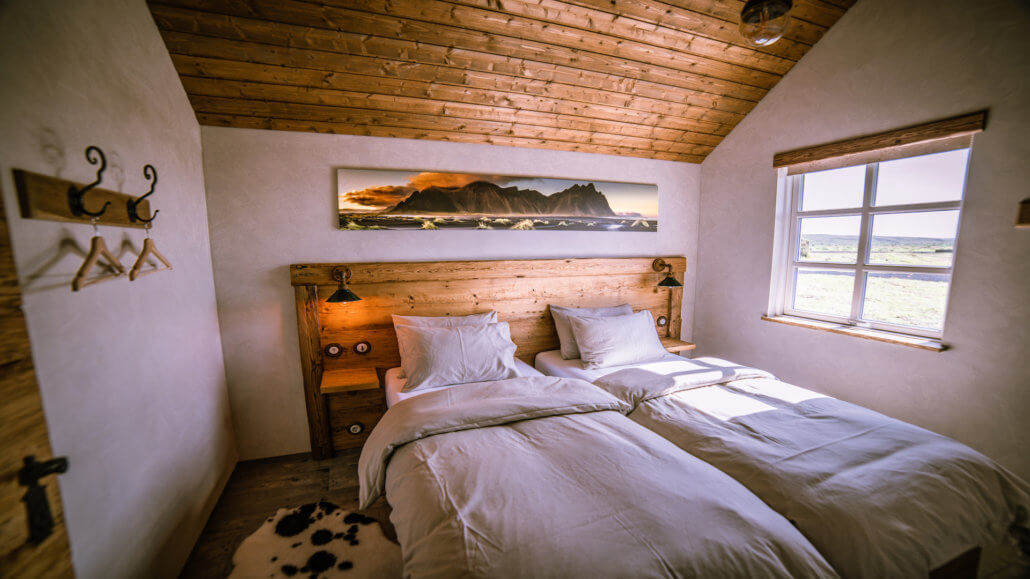 Torfhus Retreat in Island - Schlafzimmer