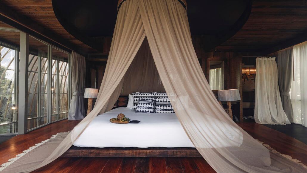Keemala Resort, Phuket, Thailand - Tree Pool House - Schlafzimmer