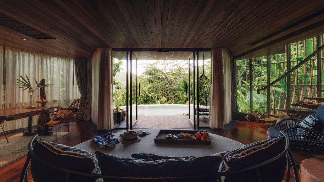 Keemala Resort, Phuket, Thailand - Tree Pool House - Wohnbereich