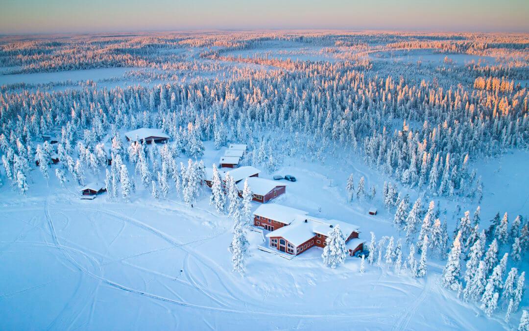 Pinetree Lodge – Winteraction und Nordlicht-Romantik in Schwedisch-Lappland