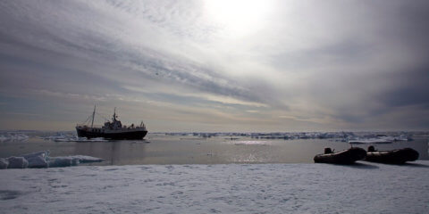 Mikro-Expedition, Arktisches Spitzbergens, Norwegen, MS-Togo