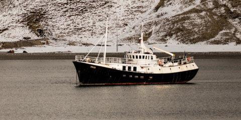 Mikro-Expedition, von Tromsø über die Baereninsel nach Spitzbergen, MS-Togo