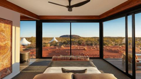 Blick auf den Uluru