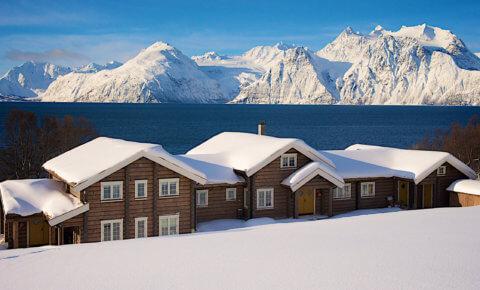 Boutique-Lodge am längsten Fjord Norwegens